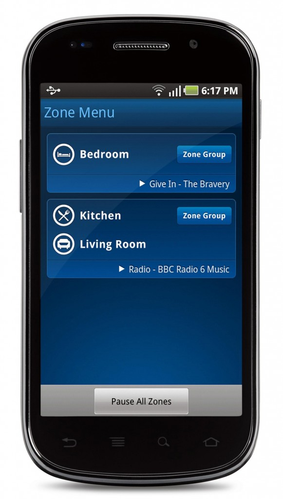 Android Zone Menu