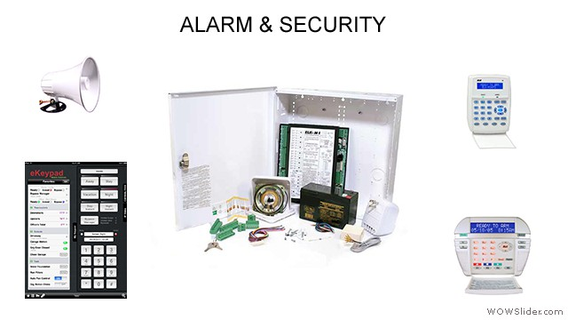 Alarm and Security